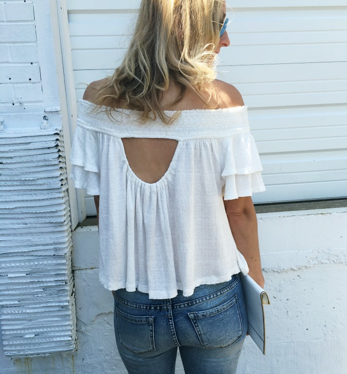 Back of Off the Shoulder