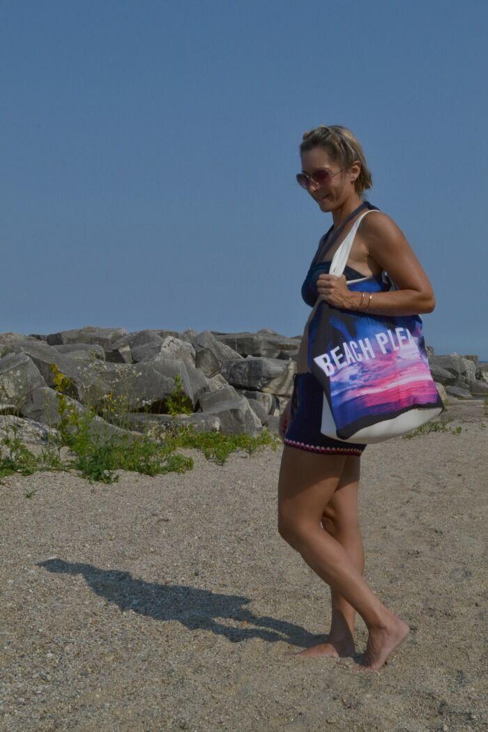 Beach-beach bag