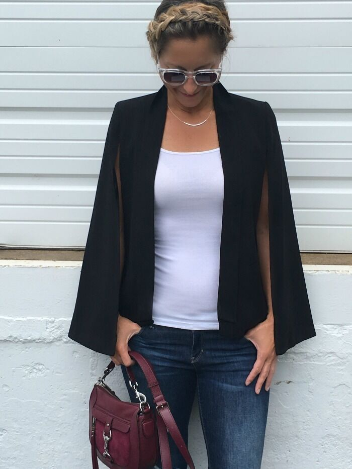 September cape is the perfect fall fashion statement