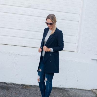 Fall Trend-Navy Jacket