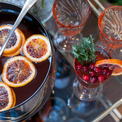 Entertaining a Crowd: Holiday Punch and My Favorite Go-To Gals