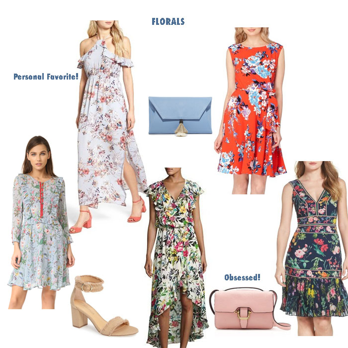 My Favorite Spring Floral Dresses by Never Without Navy