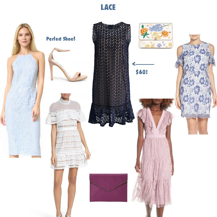 My Favorite Spring Lace Dresses by Never Without Navy
