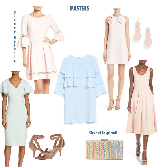 My Favorite Spring Floral Pastel Dresses by Never Without Navy