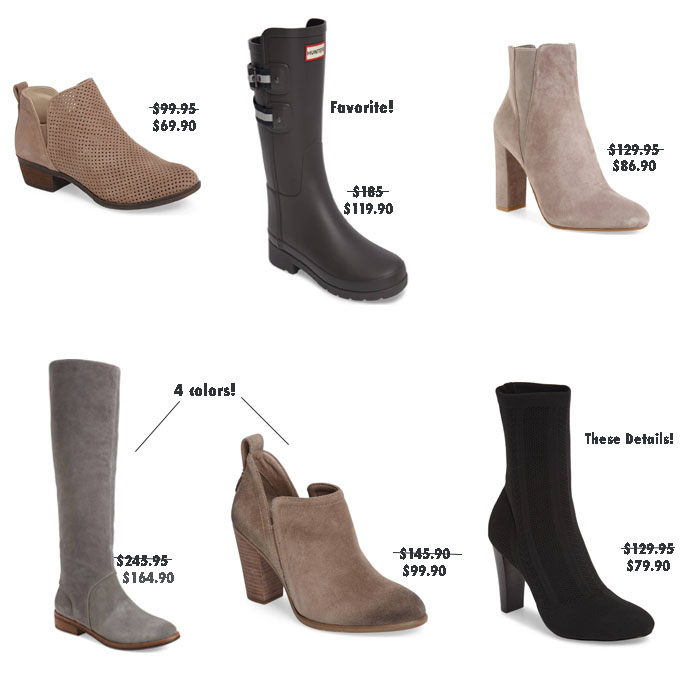 Nordstrom Anniversary Sale 2017 boots