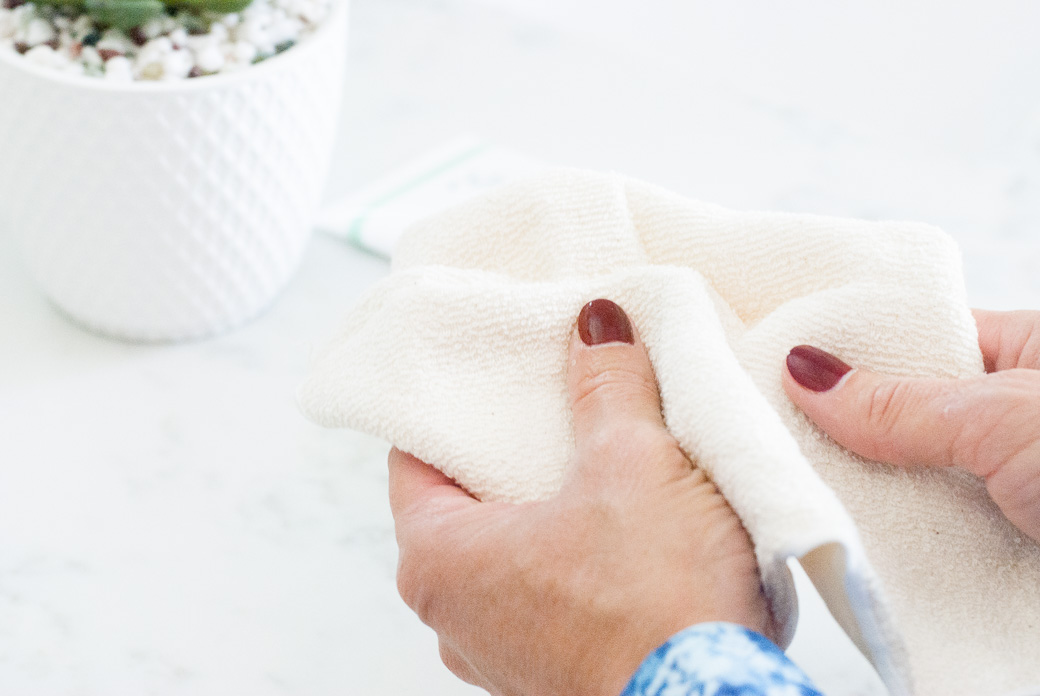 a wash cloth