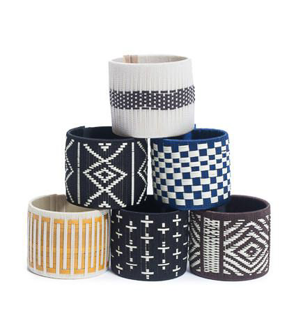 Jewelry cuffs as a favorite item to give as a gift.