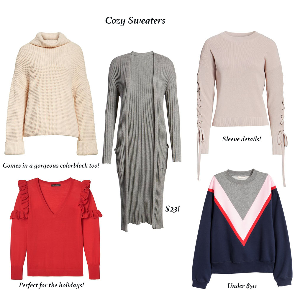 Best Winter Clothing Deals for Cozy Sweaters