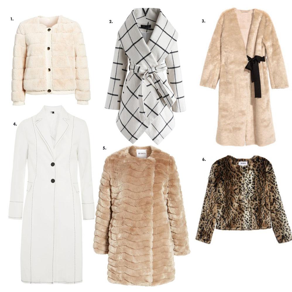 6 Coats for the Holiday Season: coats under $200