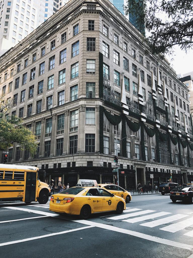 NYC Saks Fifth Avenue Building