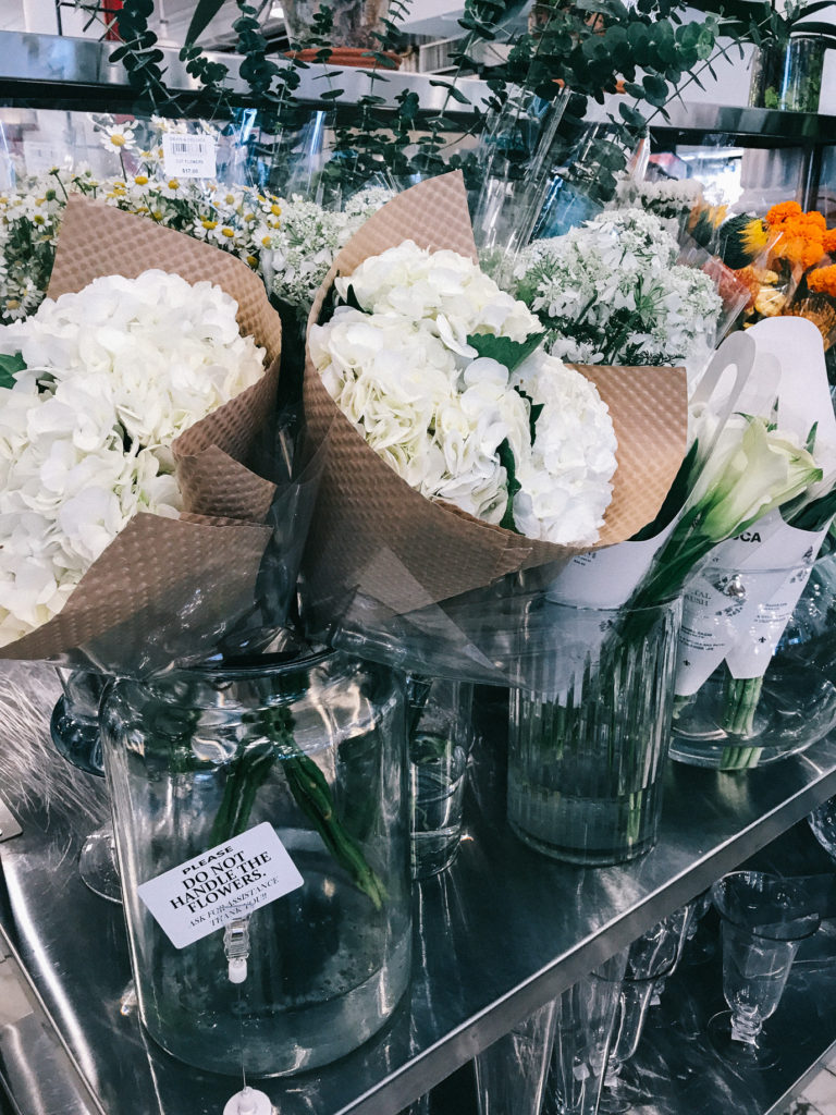 Flower Selection at Dean & Deluca