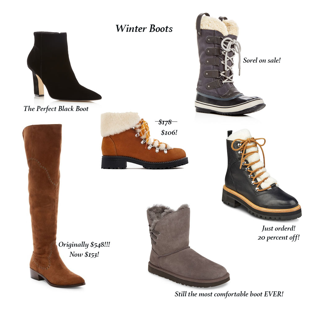 Best Winter Clothing Deals in Boots