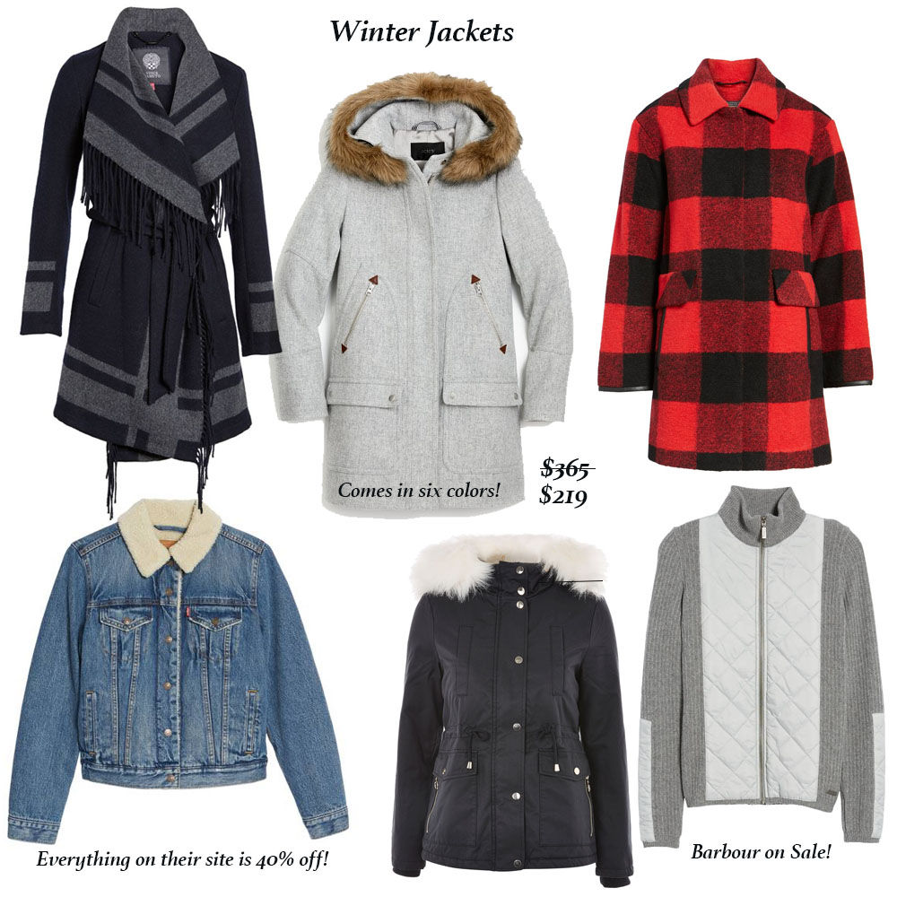 Best Winter Clothing Sales in Jackets
