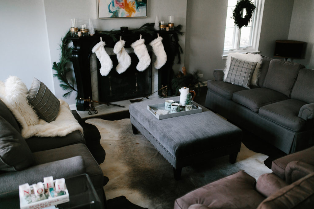 Upgrade Your Holiday Decor in living room