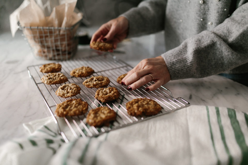Oatmeal scotchies are a simple holiday cookie