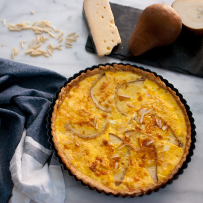 A Simple Quiche for New Year's Eve