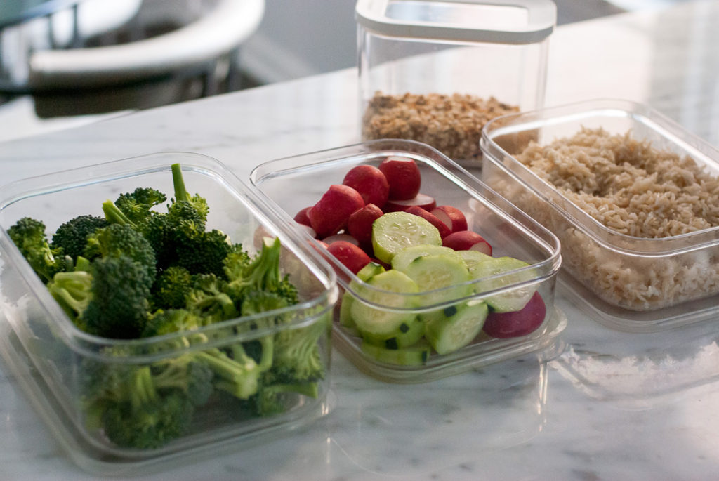 Cleanse with success by preparing and cutting up food and storing them ahead of time
