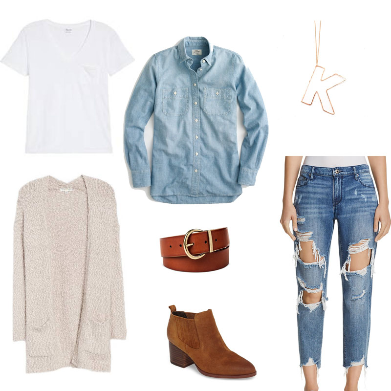 Denim on denim mood board