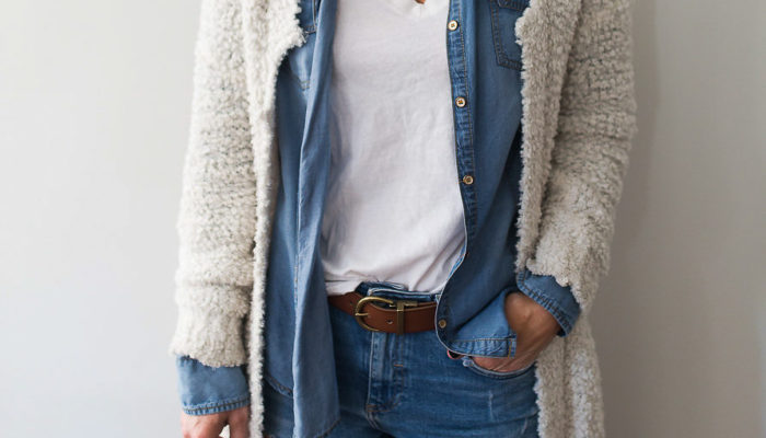 Series: Outfit of the Day – How to Style Denim on Denim