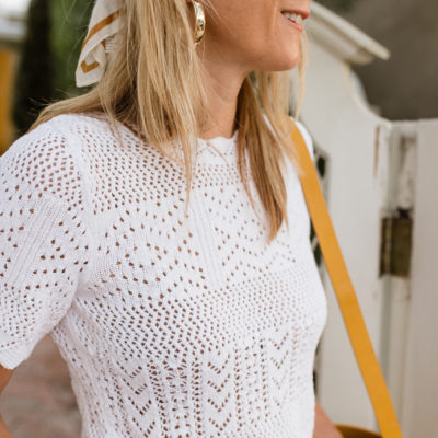 Crochet and Eyelet for Spring + Other Odds and Ends
