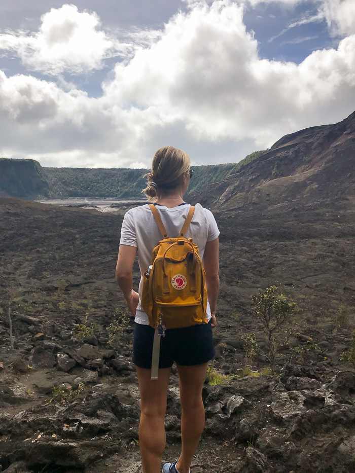 What to wear on the big Island of Hawaii: Backpack & Hiking Outfit