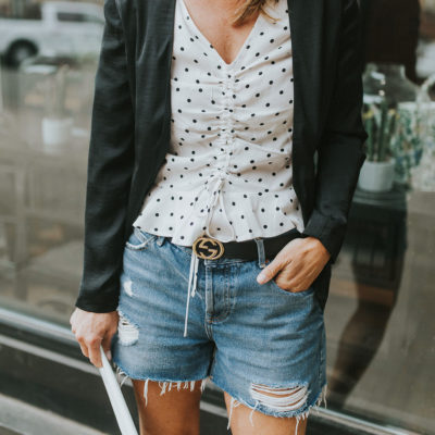 How to Make Your Denim Shorts Look More Chic