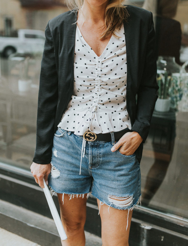 Denim Shorts Styling Tips