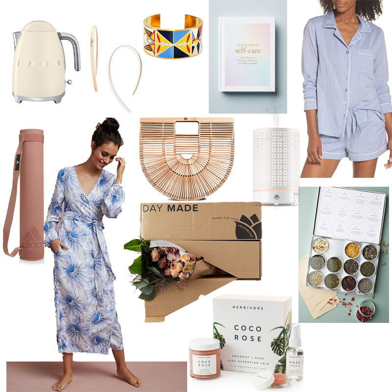 Collage of Mother's Day Gift Suggestions Featured in Post