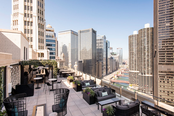 London House as one of Chicago's rooftop bars to hit this summer