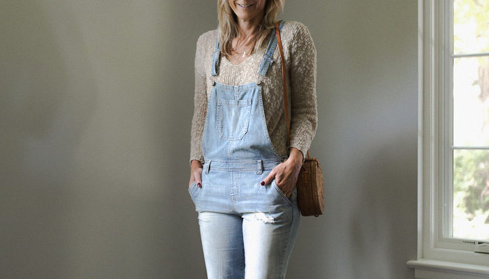 Series: Outfit of the Day-How to Style Denim Overalls as an Adult