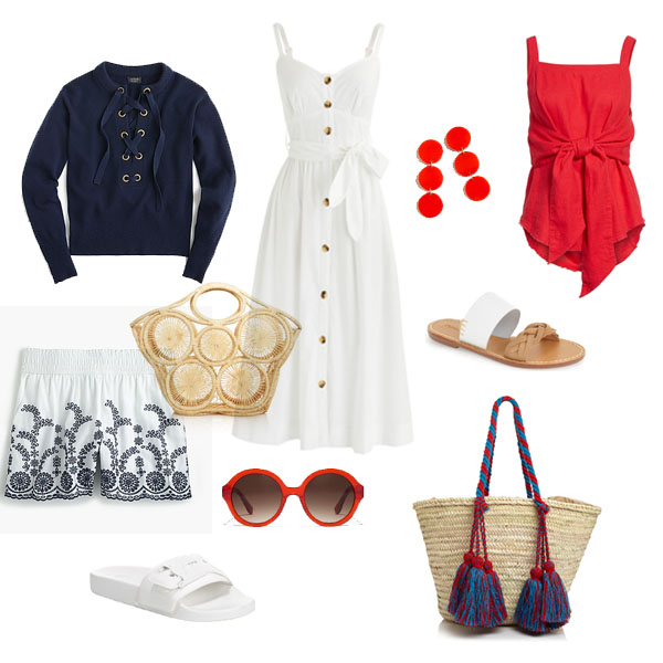 Red White & Blue Outfits For the 4th of July