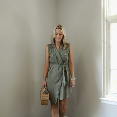 Series: Outfit of the Day-Ways to Wear a Wrap Dress