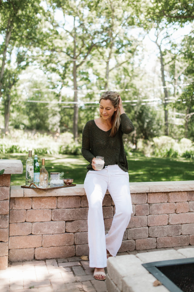 Outdoor Patio Reveal - Never Without Navy Lifestyle Blogger