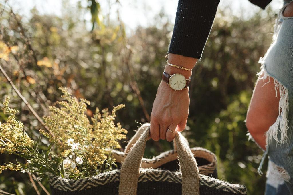 Creating a Fall Floral Arrangement