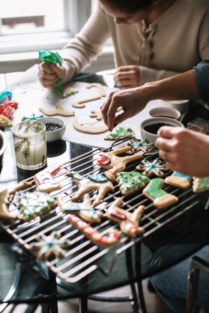 Carrying on Holiday Cookie Traditions