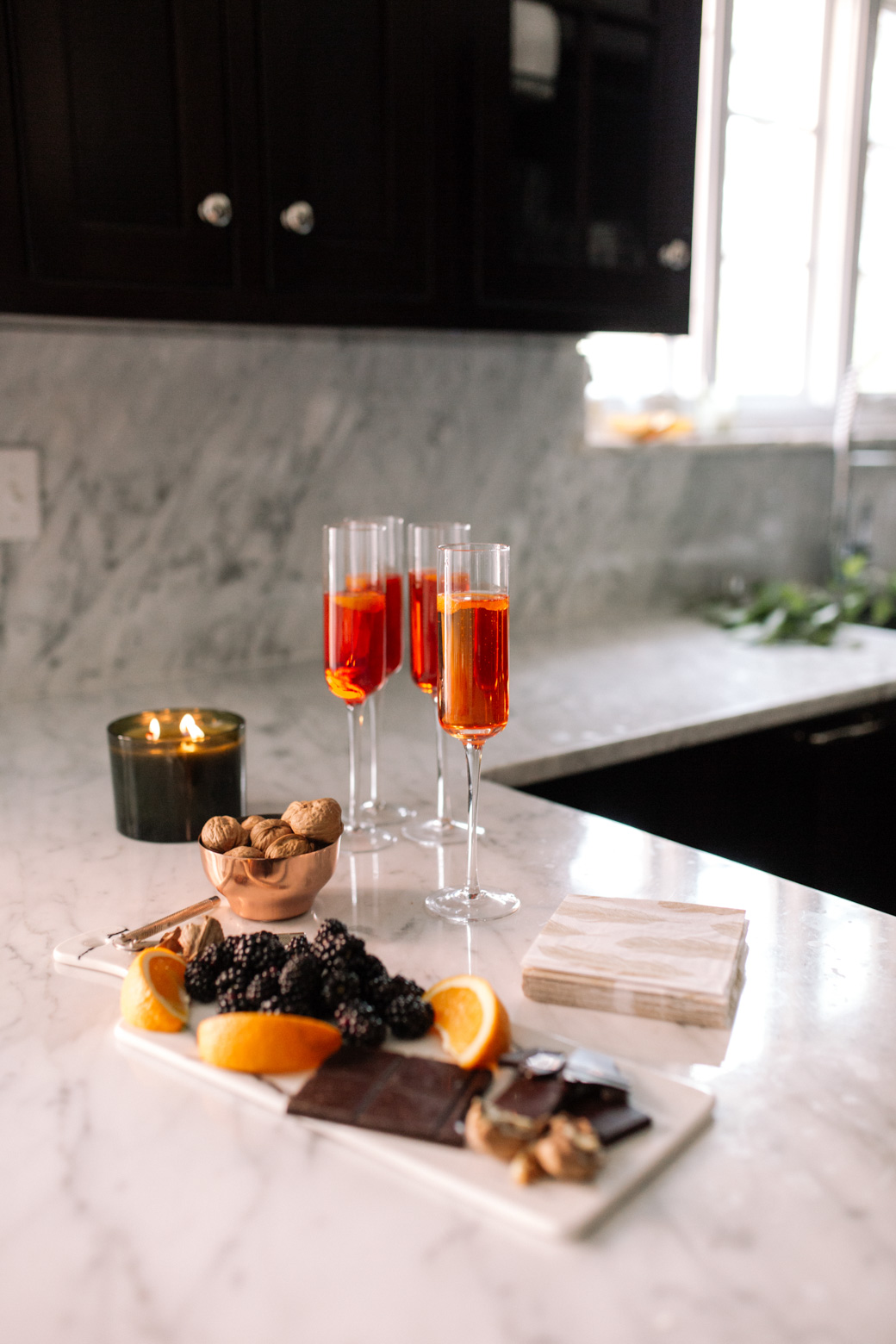 Sparkling Holiday Wine Cocktail Recipe