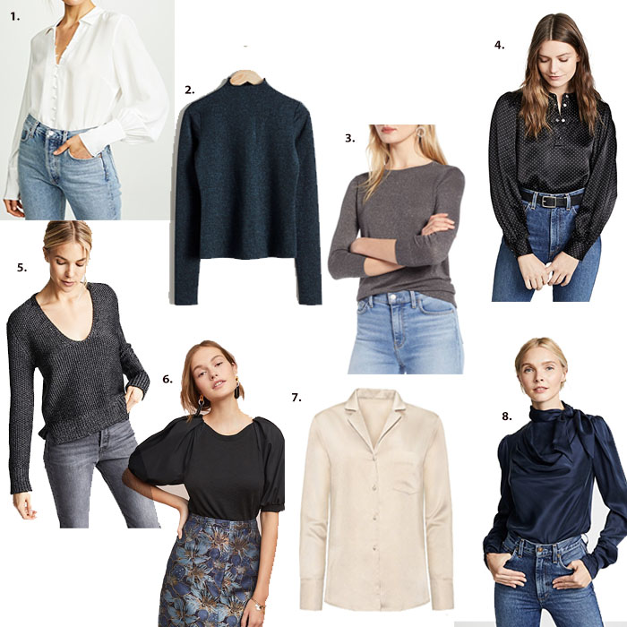 Dressy Tops for Wearing Out In Winter