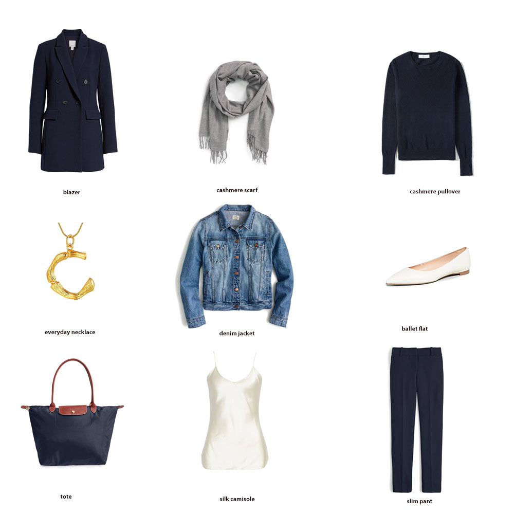 Capsule Wardrobe Key Pieces (Revisited)
