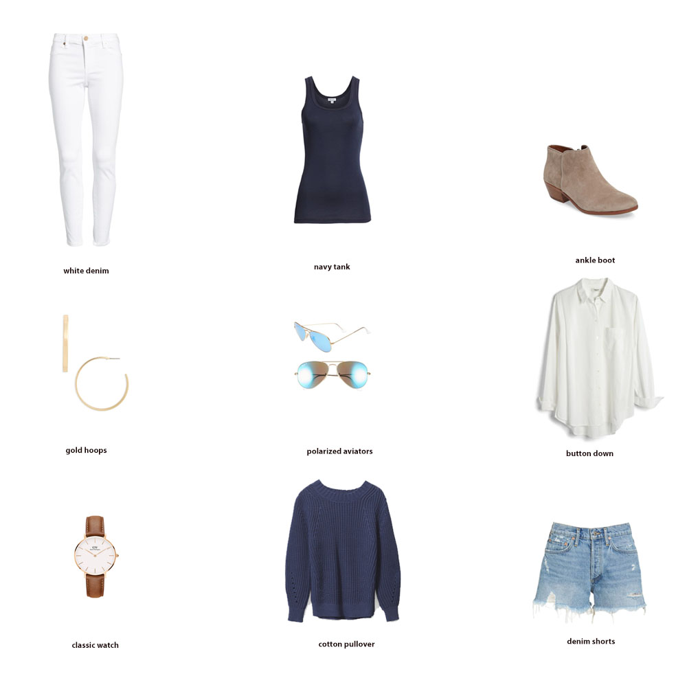 Capsule Wardrobe Key Pieces }| Fashion Staples