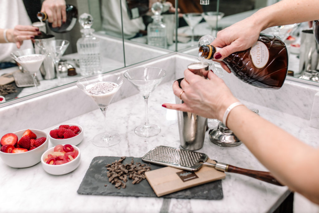 GODIVA Chocolate Martini Recipe