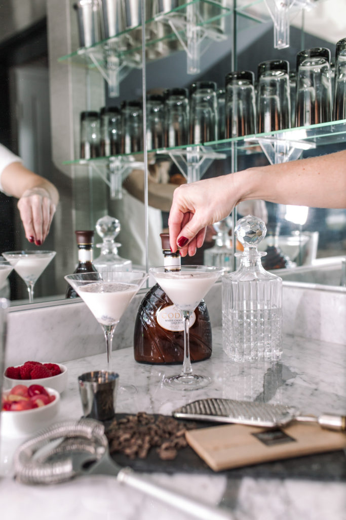 A GODIVA Chocolate Martini Recipe