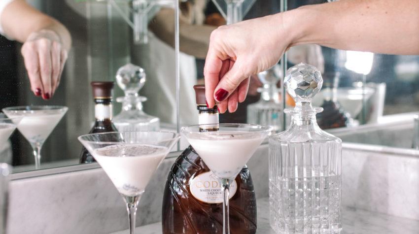 How to Make a GODIVA Chocolate Martini