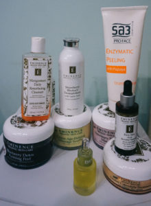 Five Favorites Series - skincare products