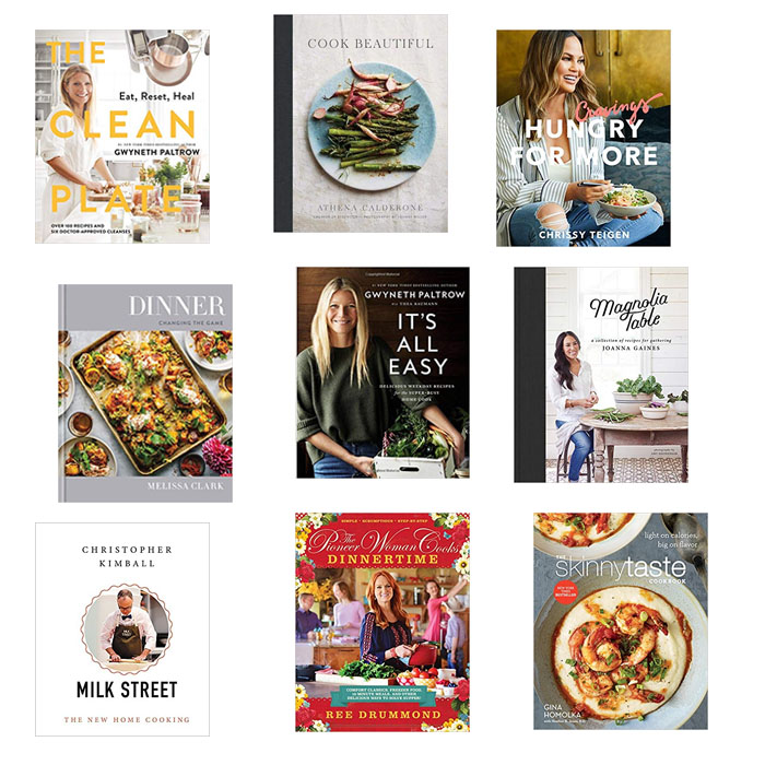 Best Cookbooks -The Ones I will be Using the Most in 2019