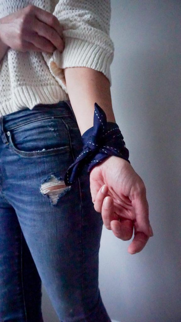 Wrap a Bandana Around Your Wrist