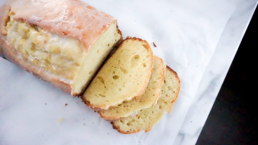 Lemon Loaf Bread for Easter Day