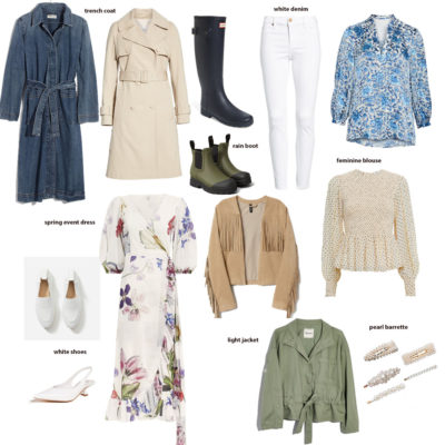 spring wardrobe staples