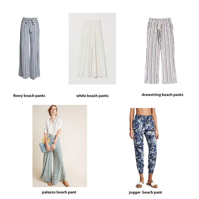 Beach Pants Styles
