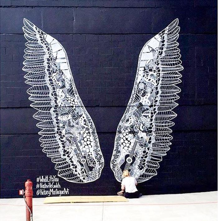 Nashville Art Wall