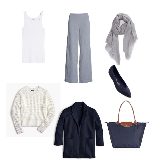 what to wear on an international flight - comfy outfit idea